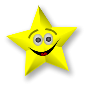 smiling gold star 300x300